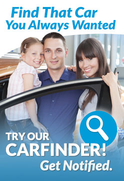 Free, no obligation and confidential CarFinder tool