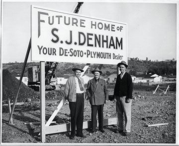 SJ Denham Historical Photos