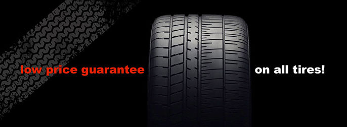 Low Price Guarantee on Tires from SJ Denham
